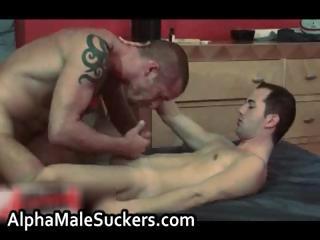 Bizarre hardcore gay fucking and sucking