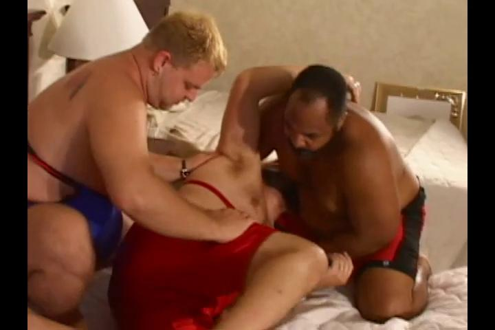 3 lascivious big wrestlers crave some hot impure sex