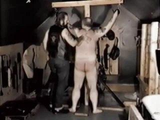 Vintage Homo Bear Thrashing