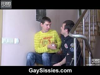Anthony&Sebastian homo sissy video