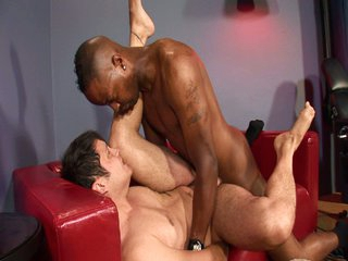 Hot interracial dick action for 2 sexy big dongs