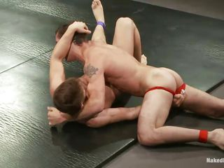 Steve and Dj are in a hawt competition. They are fighting hard and desperately trying to win the combat and at the same time they are taking advantage of the situation by touching each other's taut a-hole as well as by giving each other a-hole fingering. What else they are up to, I bet, u definitely wishes to find out.