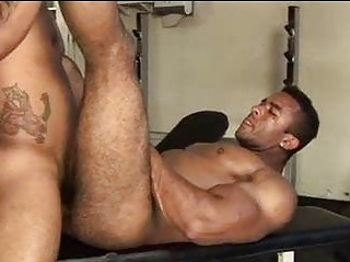 Giant Muscled Unshaved Guy Wanted To Get Fucked