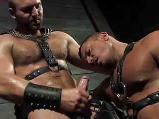 Unshaved Stud Tom Wolfe In Leather And Fucking Angelo