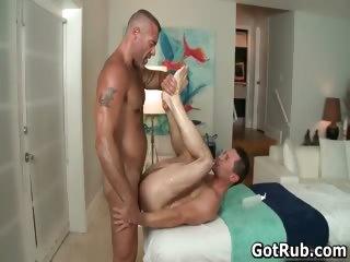 A homosexual massage a day keeps the doktor