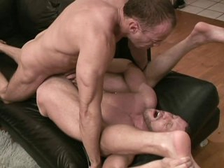 Rough Gay Muscle Paramours Bareback Cum Fucking