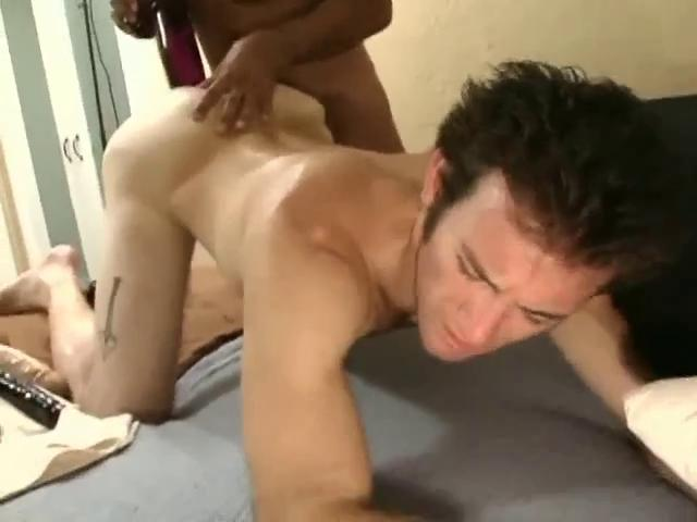 Sensual black haired gay boy-friend acquires a massive sex toy up his constricted gazoo hole