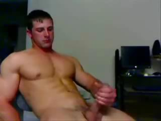 College Hunk Jerks Like No Other