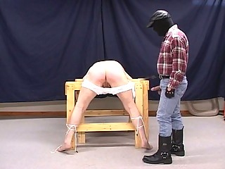 Lewd Pig Dad Torturing Slutty G