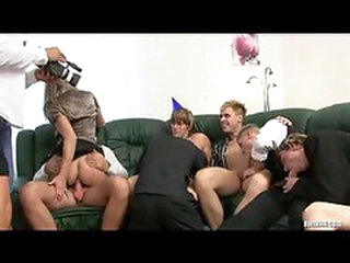 Biggest party with tons of bi-sexual fucking
