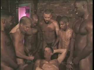 Homosexual anal team fuck with hard body chicks