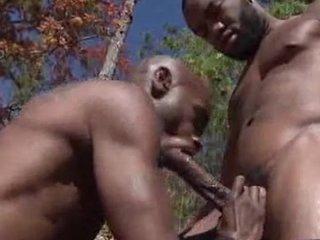 Black Knob and Phenix fucking outdoors
