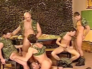 Bawdy Military fellows love having nasty