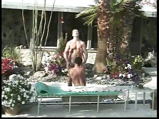Charming pool males