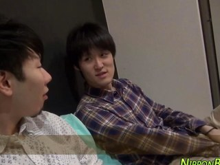 Horny japanese legal age teenager copulates