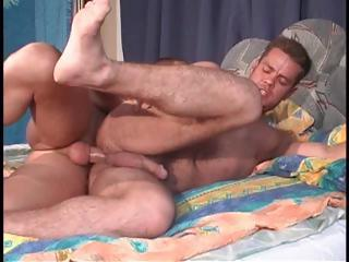 Hungarian man helps his roommate in his wish to pound his homo a-hole