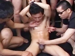 Slim Japanese homosexual chap acquires his dream