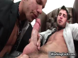 Shane Frost fucking and engulfing