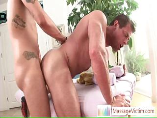 Muscled stud getting his arse fucked hard and deep By Massagevictim