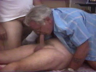 Threesomes old guy