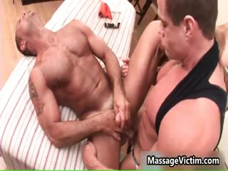 John Marcus acquires his taut a-hole massaged
