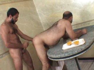Brasilian Fat Bear Taking Hard 10-Pounder Deep Inside