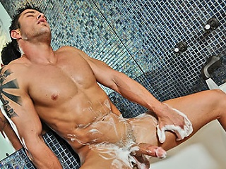 Sexy cody have a smutty session alone...