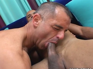 2 sexy jocks suck on eac others cocks...