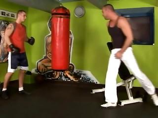 Hawt Bareback gym 1
