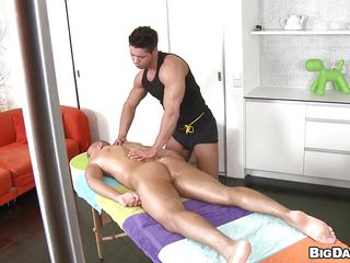 Hot Juliano is lying in the bed, waiting for an erotic massage. This guy is getting his wazoo rubbed by Ennio, a sexy concupiscent guy. This guy starts to kiss and take up with the tongue that constricted wazoo but this is not sufficiently for him. Sucking his schlong is the most excellent for the one and the other of them. Juliano is so hard. Guess how the grand finale is going to look like!
