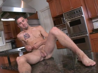Our buddy wade acquires his a-hole stretched and drilled