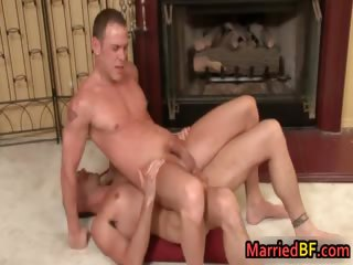 Super hot married chaps in homo arse fuck