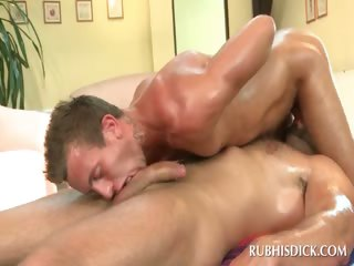 Gay sixtynine with excited hot chaps