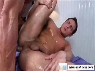 Homosexual anal massage