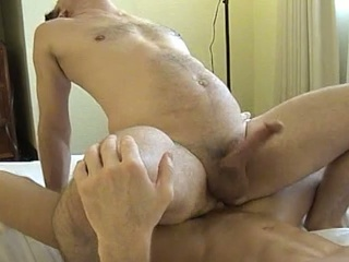 Muscled guy gets his arse licked and drilled hard