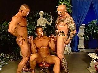 Sexually excited Hunks In A Hawt Foursome