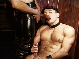 Enjoyable Williams fucked by  leather daddy Mondo Moore right up his...