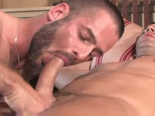 Gay fingering and hard anal pounding