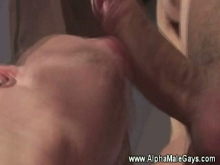Males suck eachothers nipps and jock
