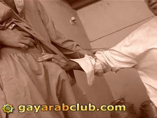 Trio arab homosexual guys tugjob