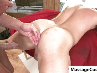 Massagecocks Massive Homosexual Weenie Rub Down