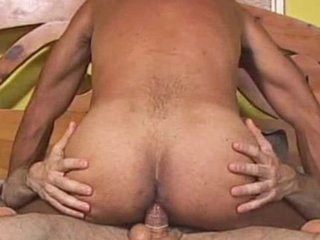 Bearded guy Andrew Adams licks anal