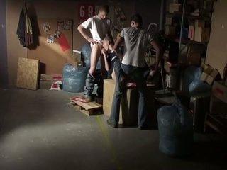 3 polish homo chaps fucking in hawt three-some