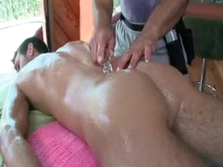 Chap Getting Oiled Up For Some Anal Massage By Gotrub