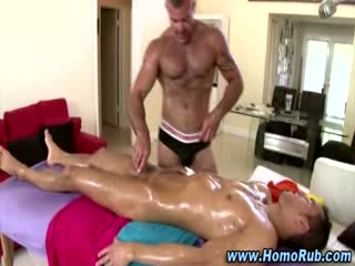 Homo str8 massage table fuck