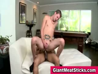Twink takes big weenie in his a-hole