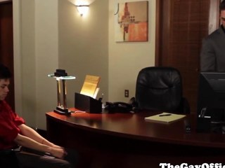 Gaysex office hunks sucks and fucked