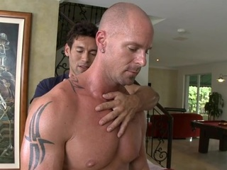 Deep anal hammering with lusty homosexual dudes