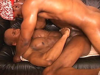 Hawt muscled homo thugs hardcore anal pounding session