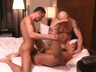 A Latin Fellow Getting His Man-Hole STRETCHED.